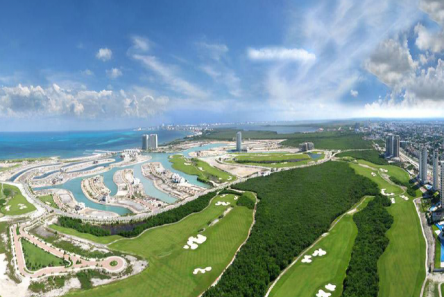 Island view Cancun