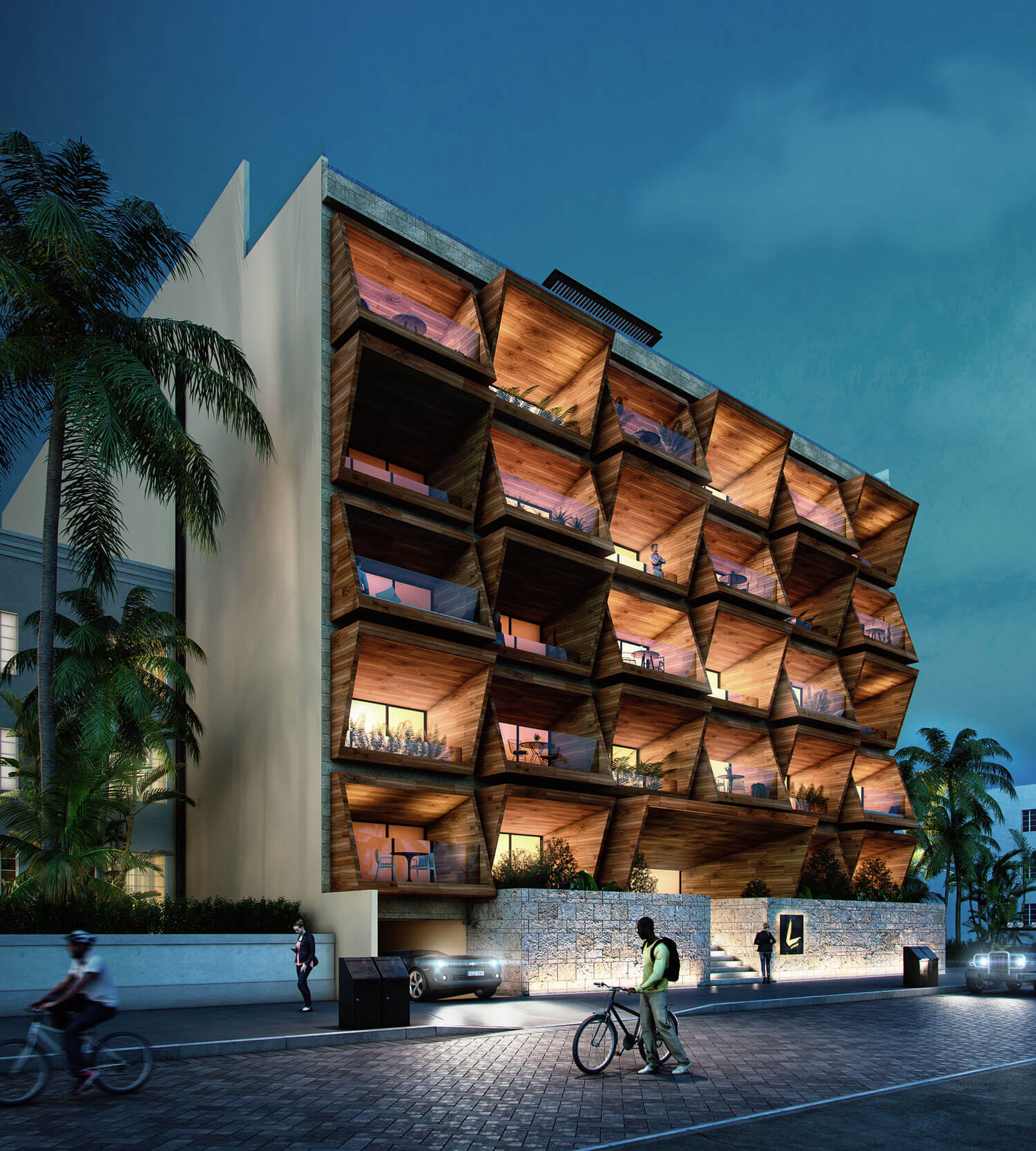 L Condos in Playa del Carmen</b> Master Plan