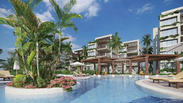 Spectacular 4 Bed Beachfront Condo in Almares Telchac Yucatan