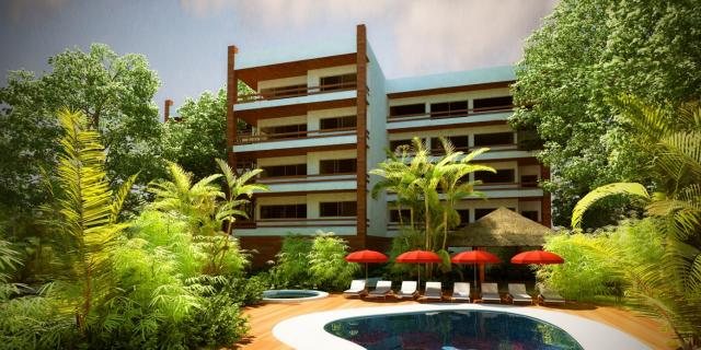 Condos with Great Design and Finishes in Cozumel property for sale