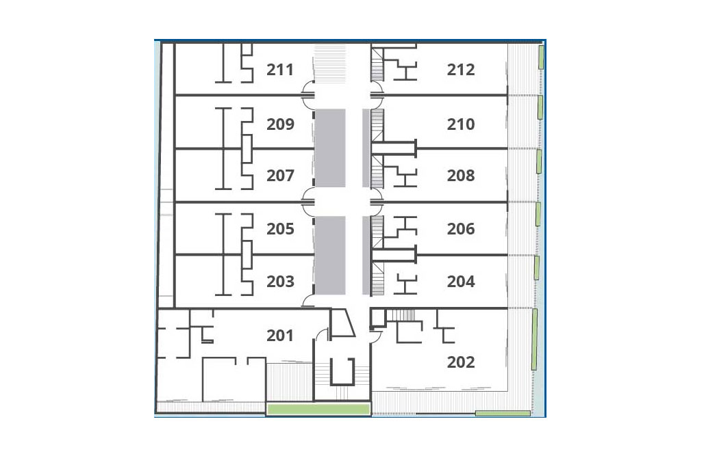 Beautiful Condo with swimming pool and Bar on the Roof Top Master Plan