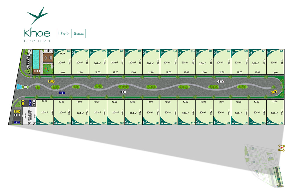 Arcos Bambu - 3BR Homes for Sale in Playa del Carmen Master Plan