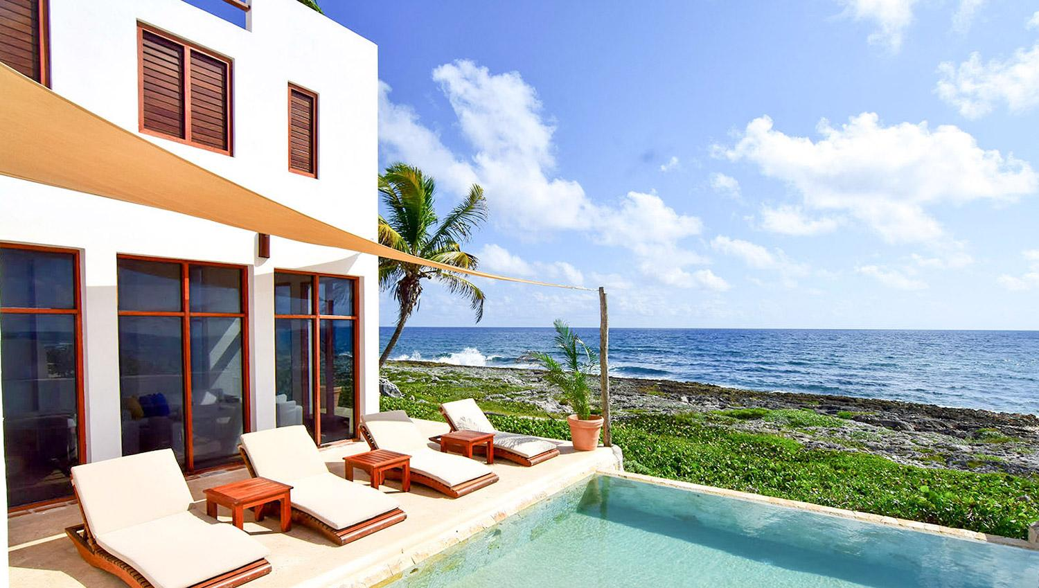 Beautiful waterfront home in paradise! Akumal.