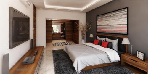 Luxurious Penthouse with Sky Lounge in Bahia Principe, Pre-sale!