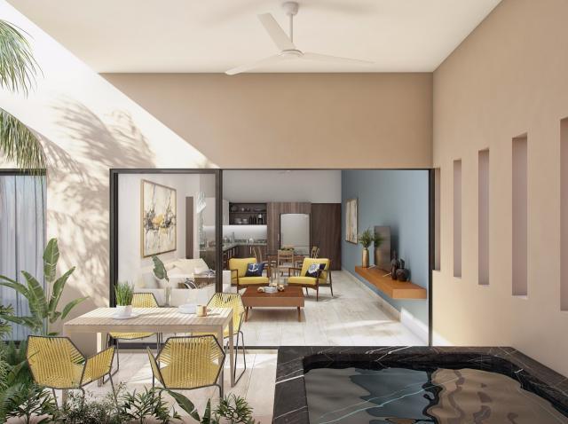 16197 One bedroom condo with a private garden  - Condo