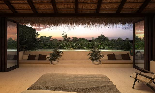 Penthouse With a Majestic View of the Jungle in Tulum property for sale