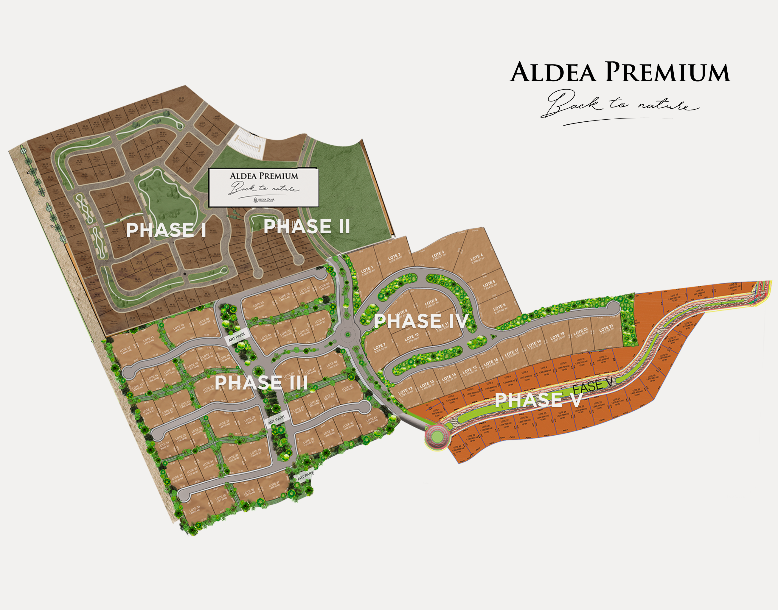Fifth phase of this successful project in Tulum - Aldea Premium Master Plan