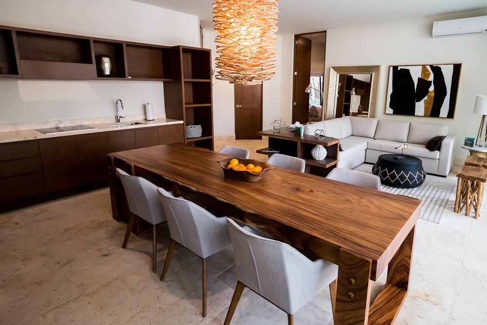 Puerta-Azul---luxurious-condominium-in-Luum-Zama-Interior-Dining