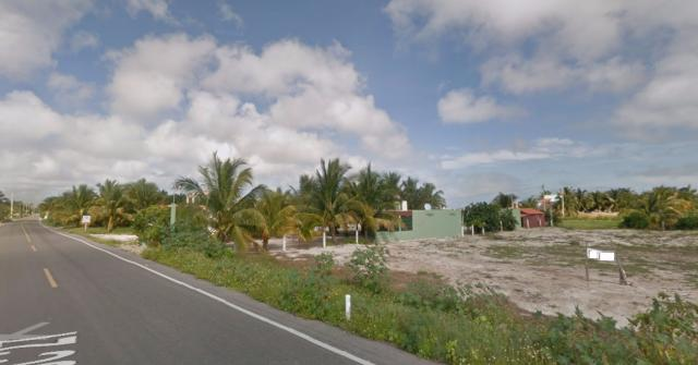 Lot in Front the Main Street of Port Telchac property for sale
