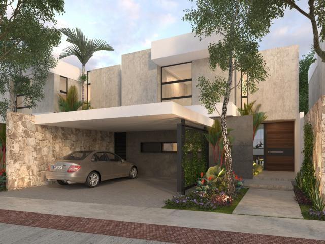 Residence in Simaruba in Temozon Norte property for sale