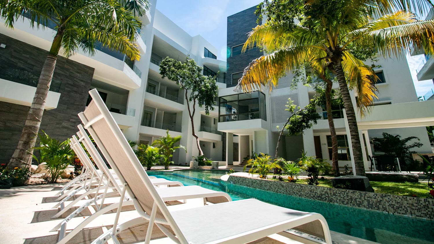 SAas-Kib Condos - Your retirement home in Playa del Carmen property for sale