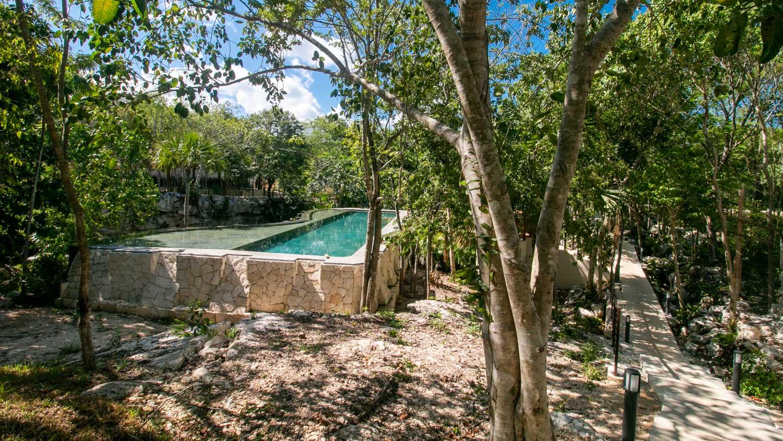 residential-lot-titled-playa-del-carmen-downtown-Pool