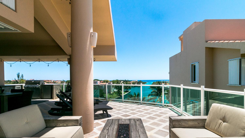 Penthouse3-bed-ocean-view-puerto-aventuras-Rooftop