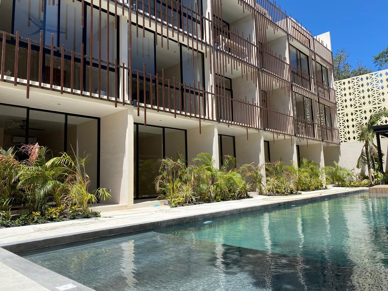 Spectacular studio in the heart of the Riviera Maya.