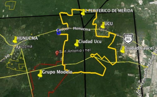 Land to develop in Yaxche, Yucatan 6.17 acres property for sale