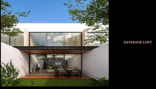 Incredible Sao TownHouse  preconstruction in Temozon. property for sale