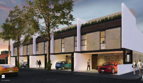 Townhouses Cibeles 5 in the Colonia Mexico, in Merida, Yucatan property for sale