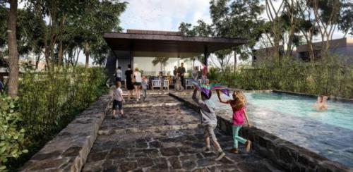Spacious land in Residencial, Santa Gertrudis Copo in Merida property for sale