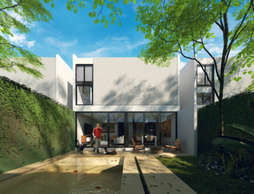 Nice and Modern Three Bedroom House in Merida, Yucatan property for sale