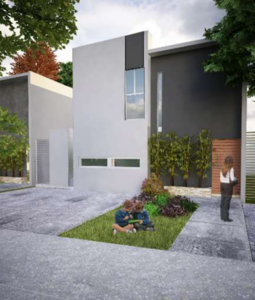 Nice Three Bedroom House in 2 Storey  in Cholul, Yuc. property for sale
