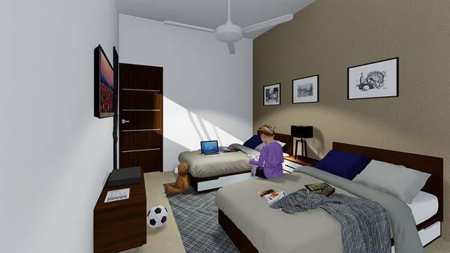 Magnificent 3 bedroom condo near Centro Maya property for sale