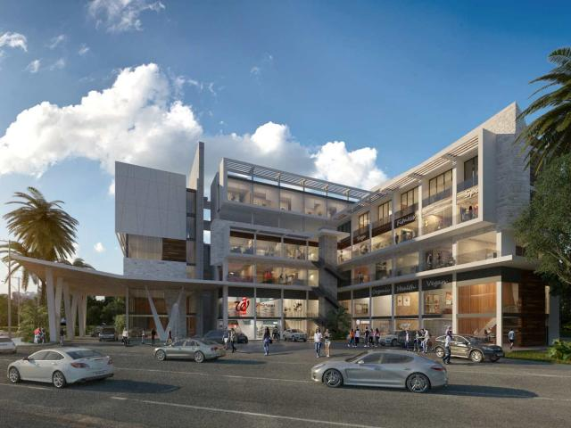 Commercial premises in medical center of Mayakoba city