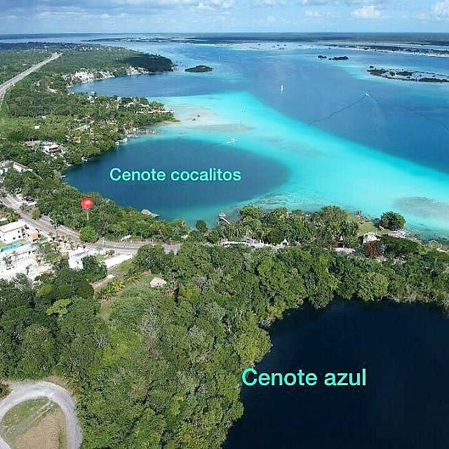 Magnificent lot on the shore of the Bacalar lagoon