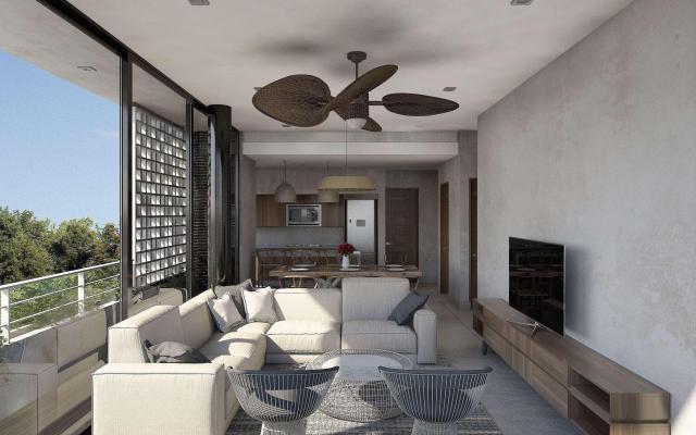 Beautiful studio with excellent amenities.