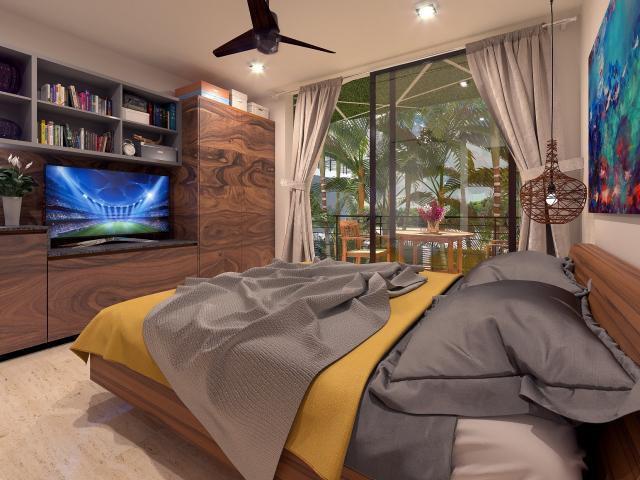 19980 Stunning 2 bedroom condo in Aldea  - Condo