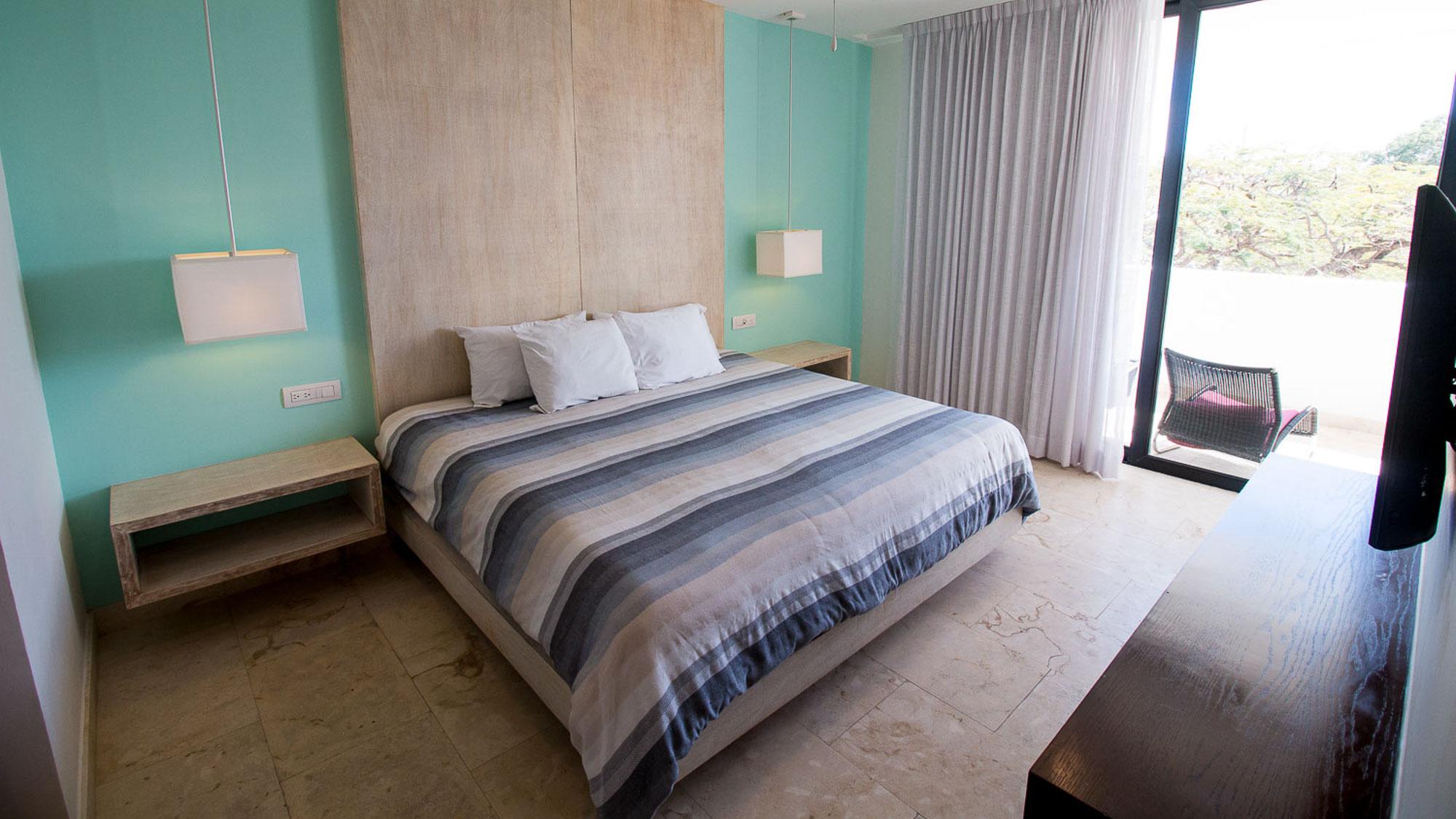 2-br-condo-playa-del-carmen-Anah-Bedroom
