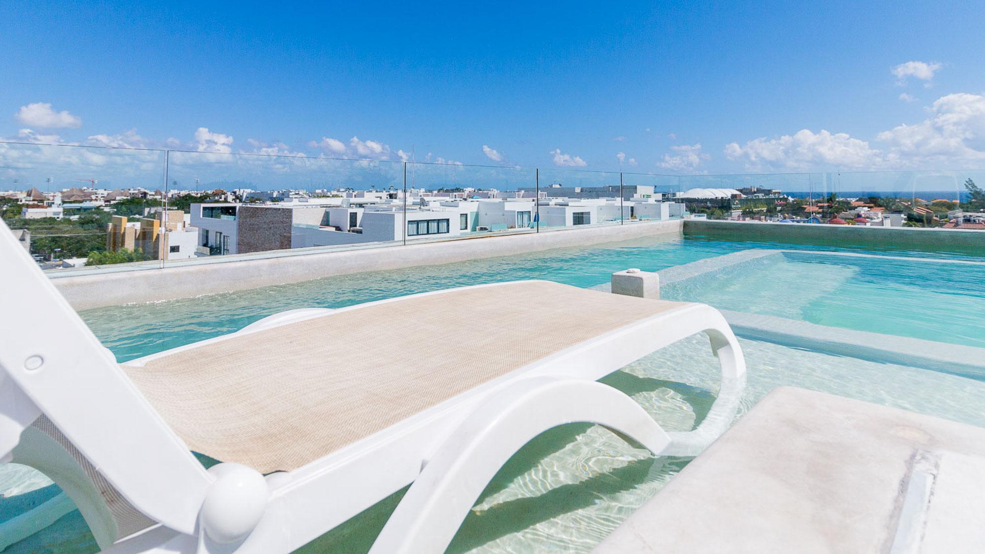 2-br-condo-playa-del-carmen-Anah-Rooftop-View