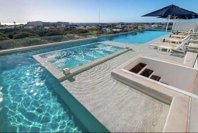 2-br-condo-playa-del-carmen-Anah-Rooftop-Rooftop