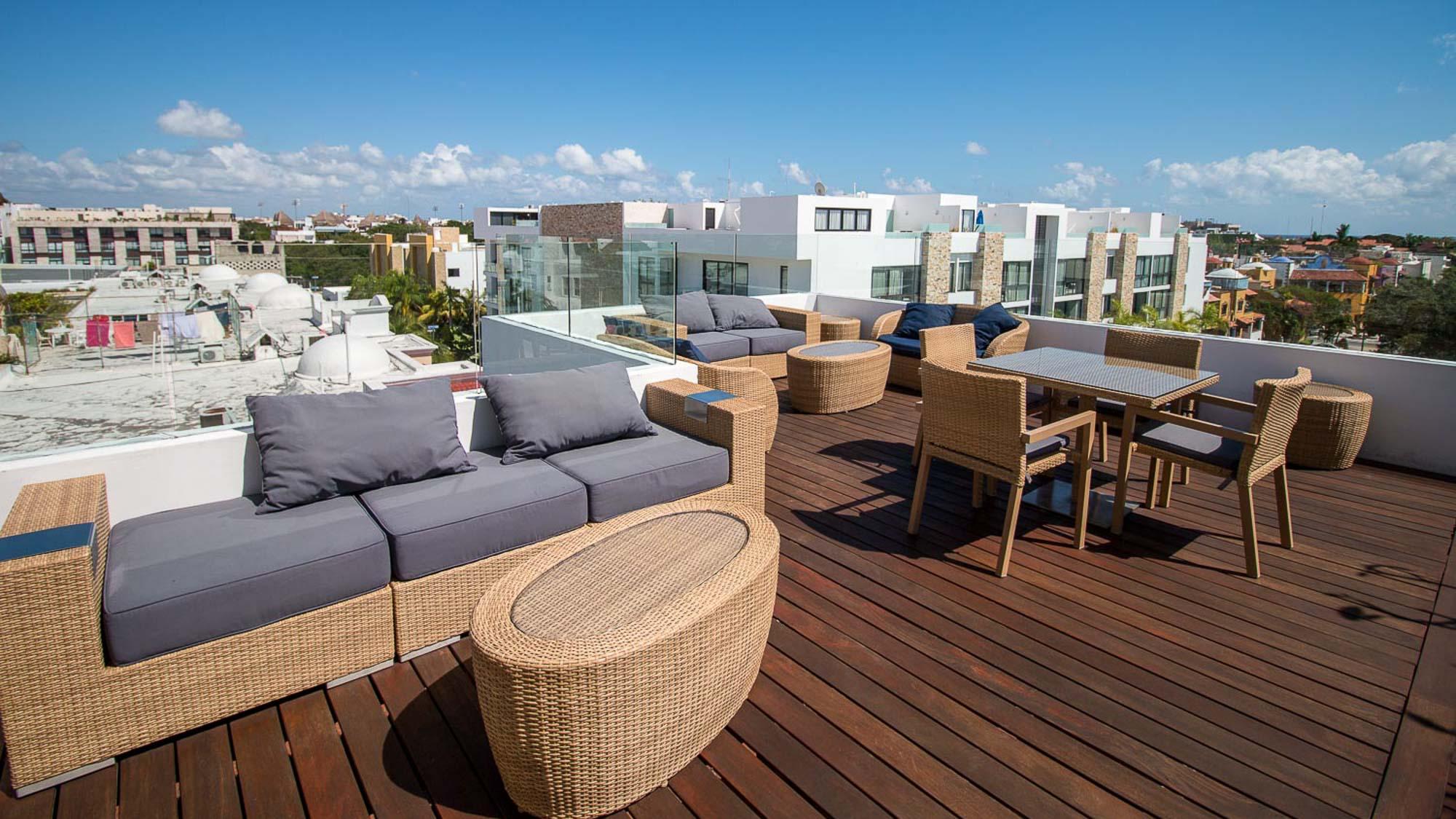 2-br-condo-playa-del-carmen-Anah-Rooftop