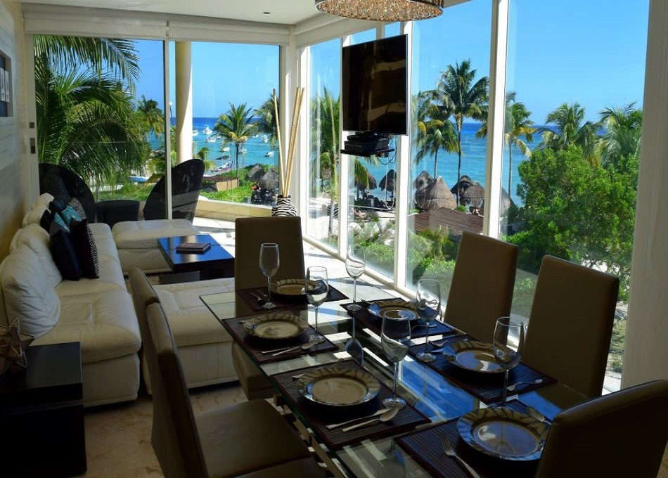 2 bedroom beach front condo in Coco Beach property for sale