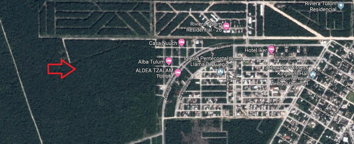 Lot with excellent location in Tulum. property for sale
