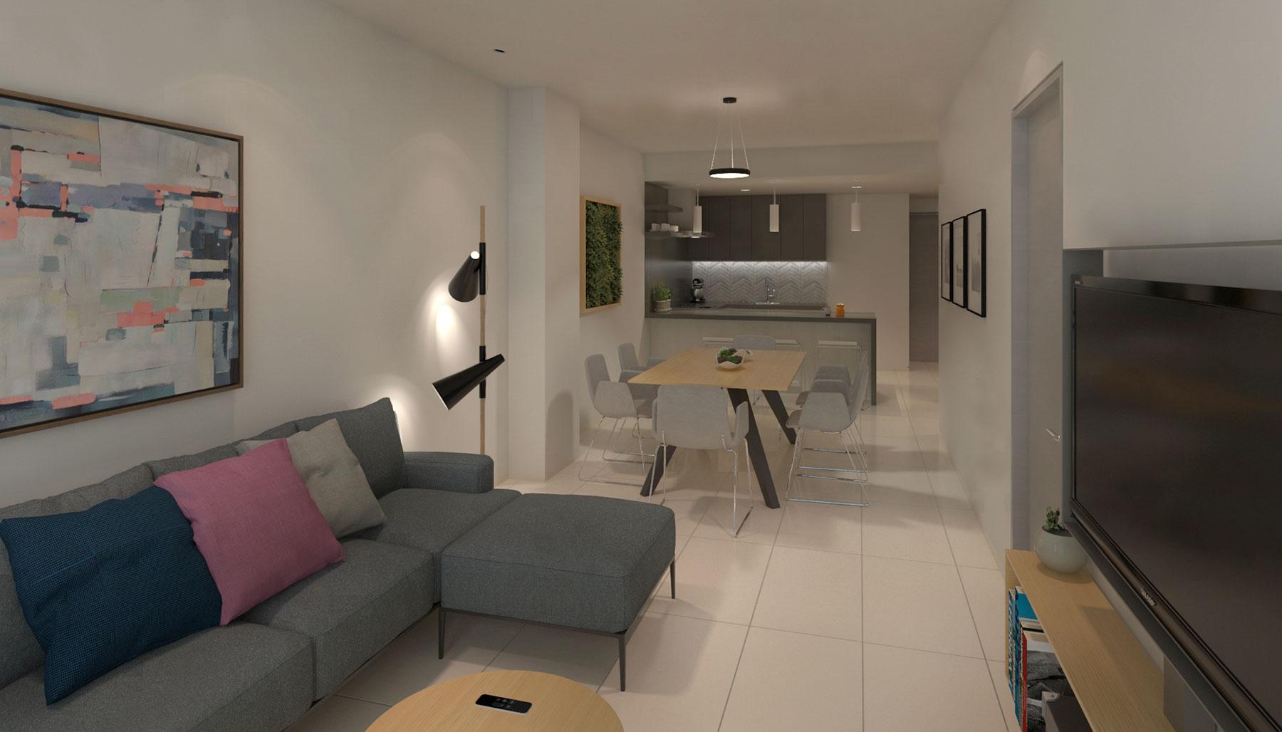 20297 2 bedroom condo in the center of Playa del  - Condo