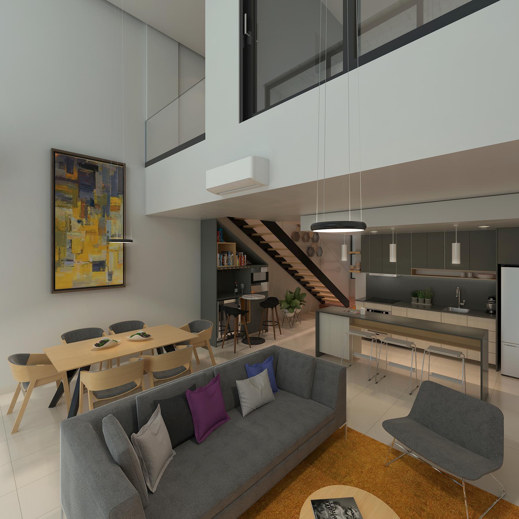 20298 3 bedroom loft in the heart of Playa del  - Condo