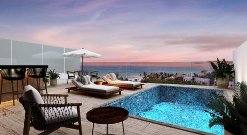 3 bedroom penthouse very close to the sea property for sale