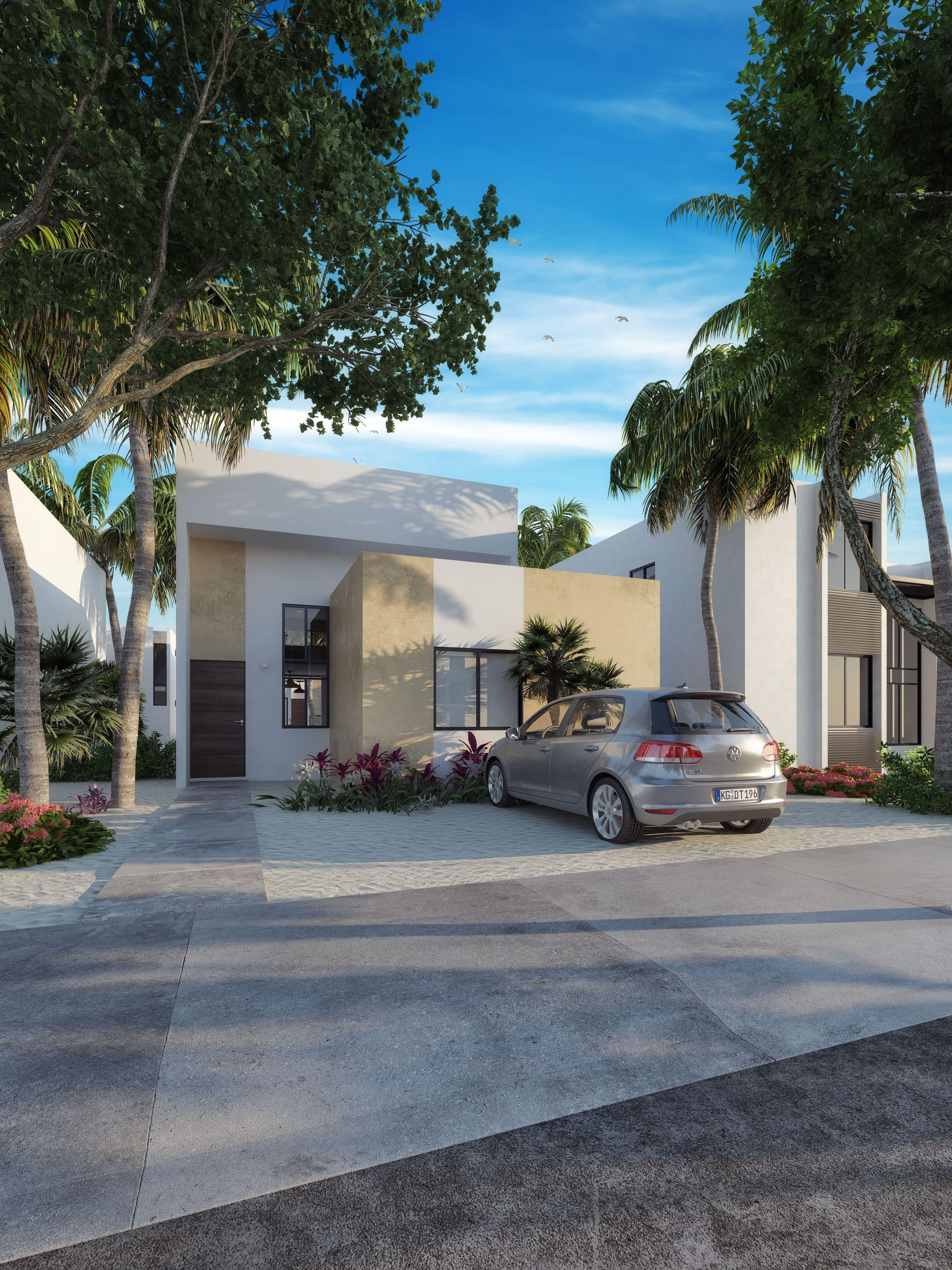 Beautiful house in Chelem model Stella V2