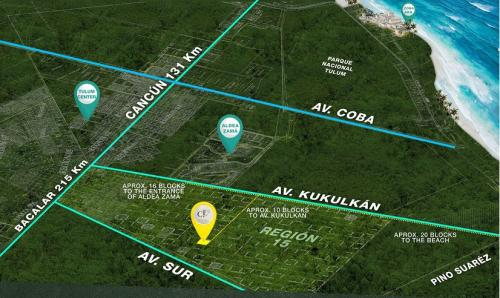 Residential lots in a zone of great growth in Tulum property for sale