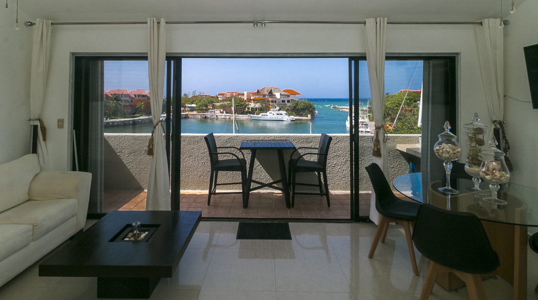 Beautiful 3 bed PH marina view in Puerto Aventuras move in ready property for sale