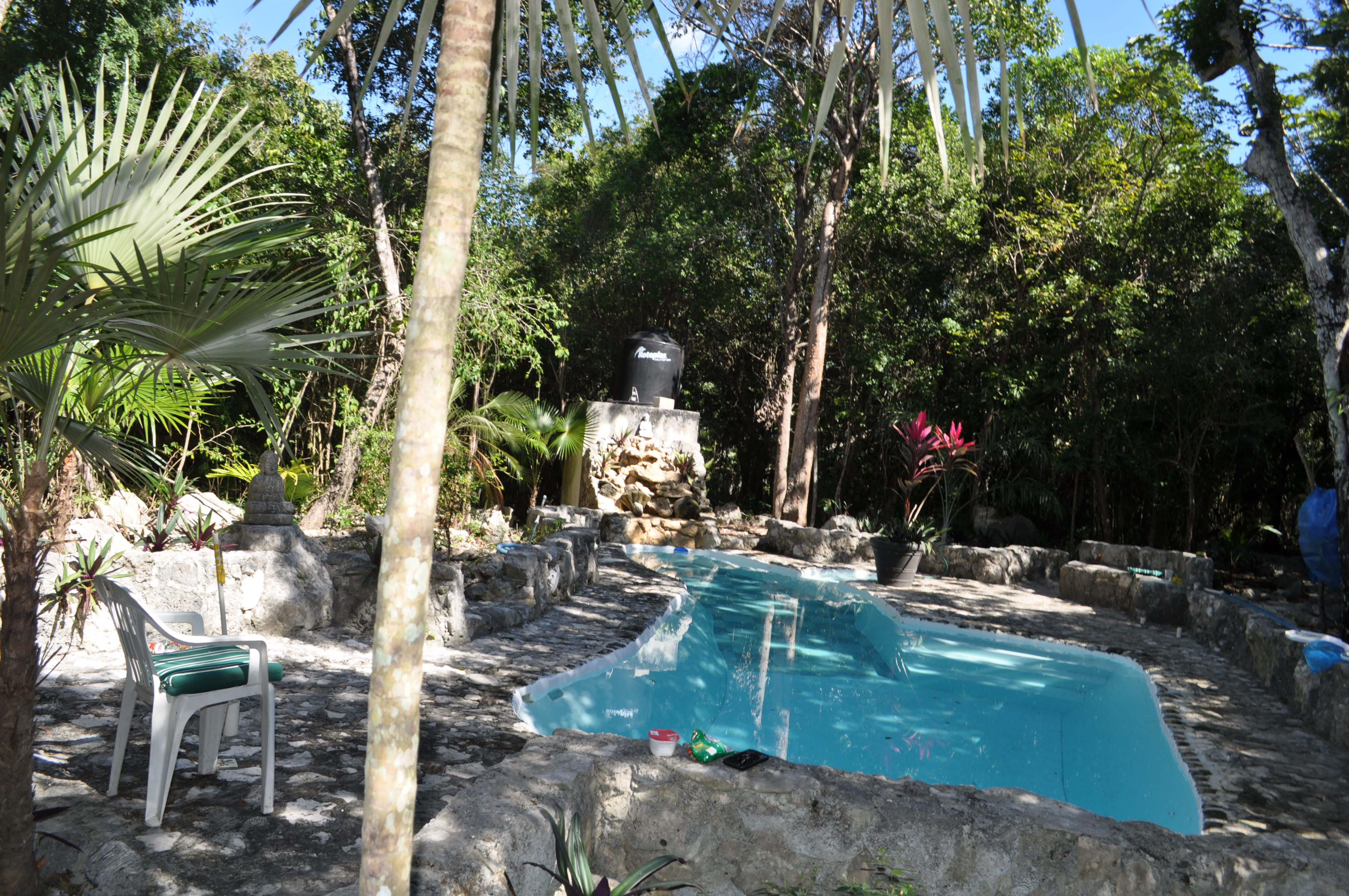 1 hectare ranch near Tulum, surrounded lush Mayan jungle property for sale