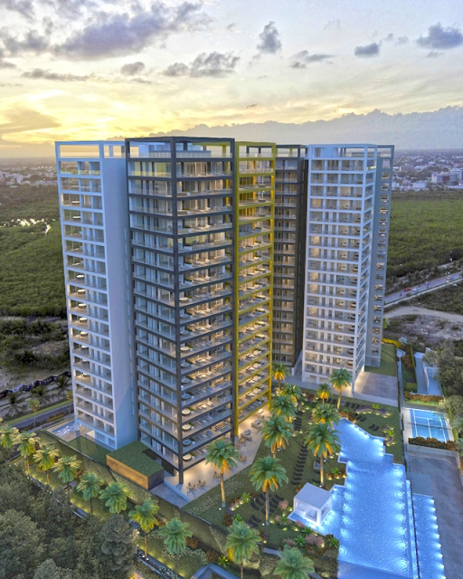 Amazing 3lvl condo with 4br in Puerto Cancun property for sale
