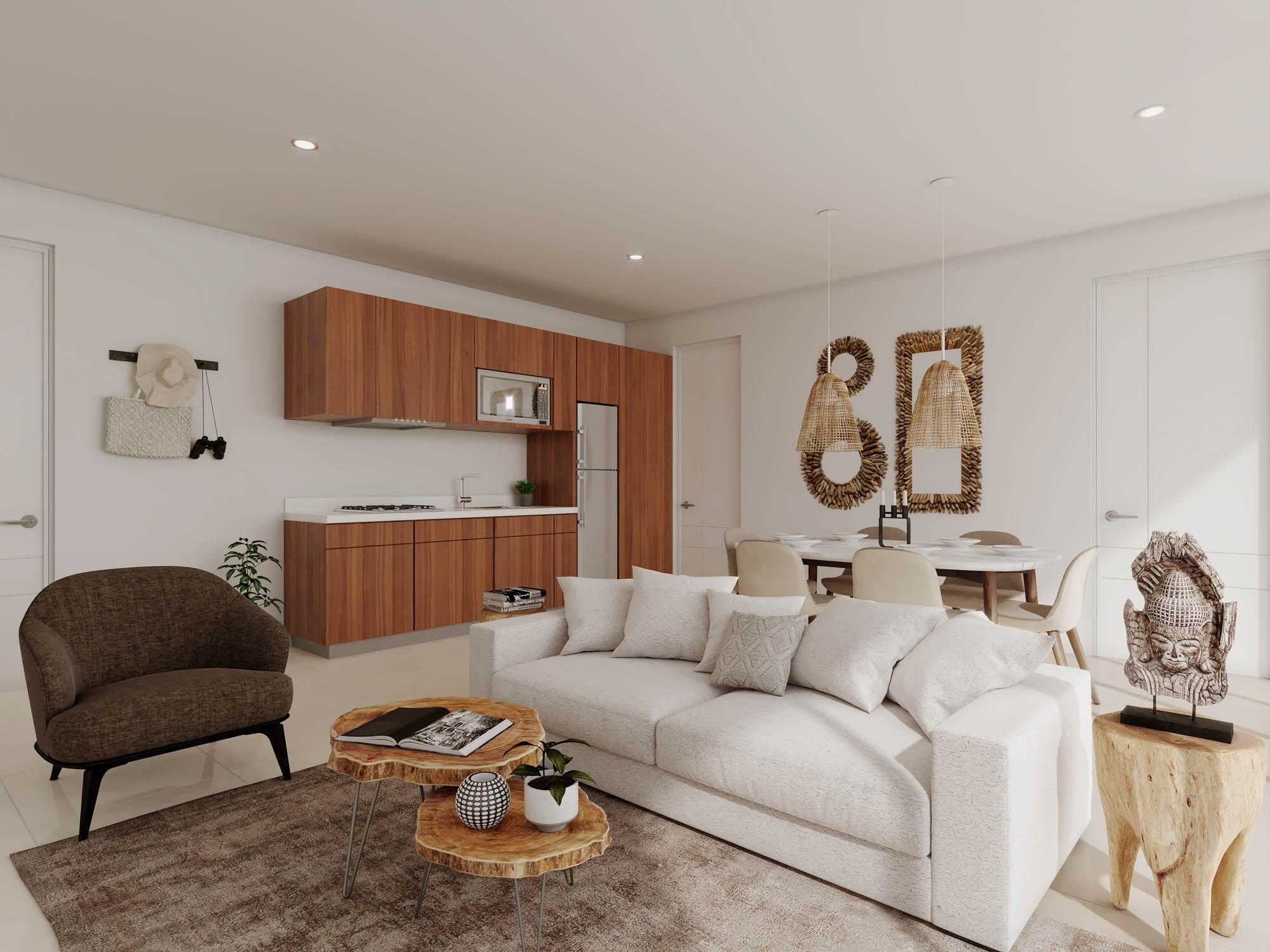 1 bedroom condo for sale near the beach