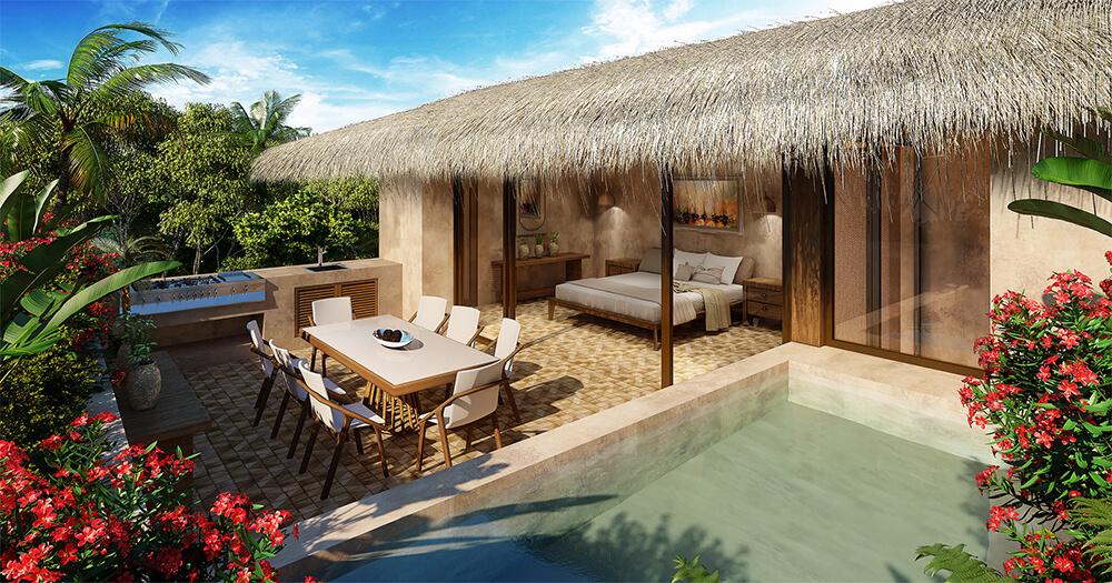 Santomar---Condos-to-retire-in-Tulum-Exterior-Rooftop