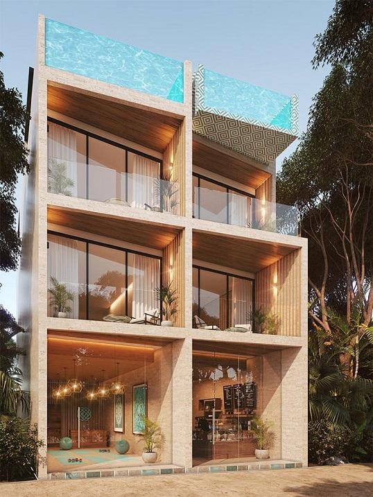 Stunning 1 bedroom condo in a prime location in Aldea Zama. property for sale