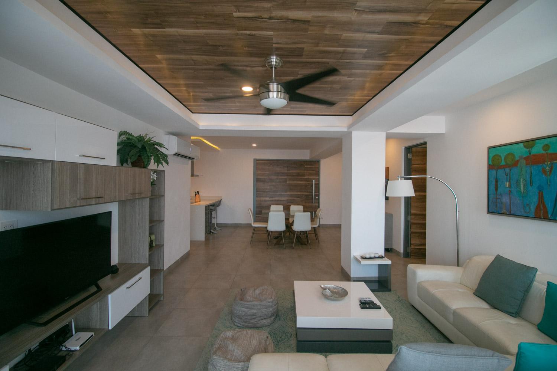 3br-Ph-beach-Playa-del-Carmen-3-bedroom-condo-LivingRoom