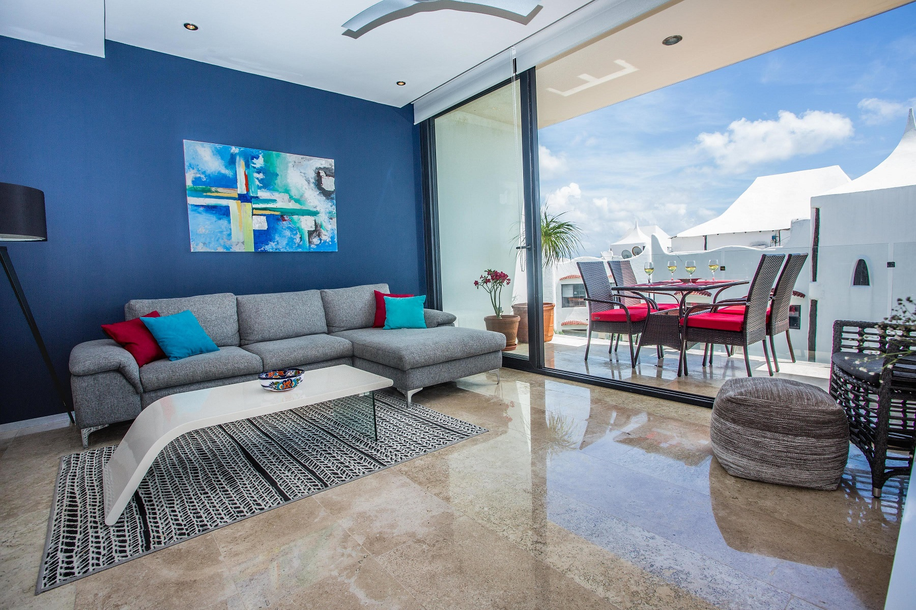 21242 Luxury 2 BR condo with ocean view in Coco  - Condo
