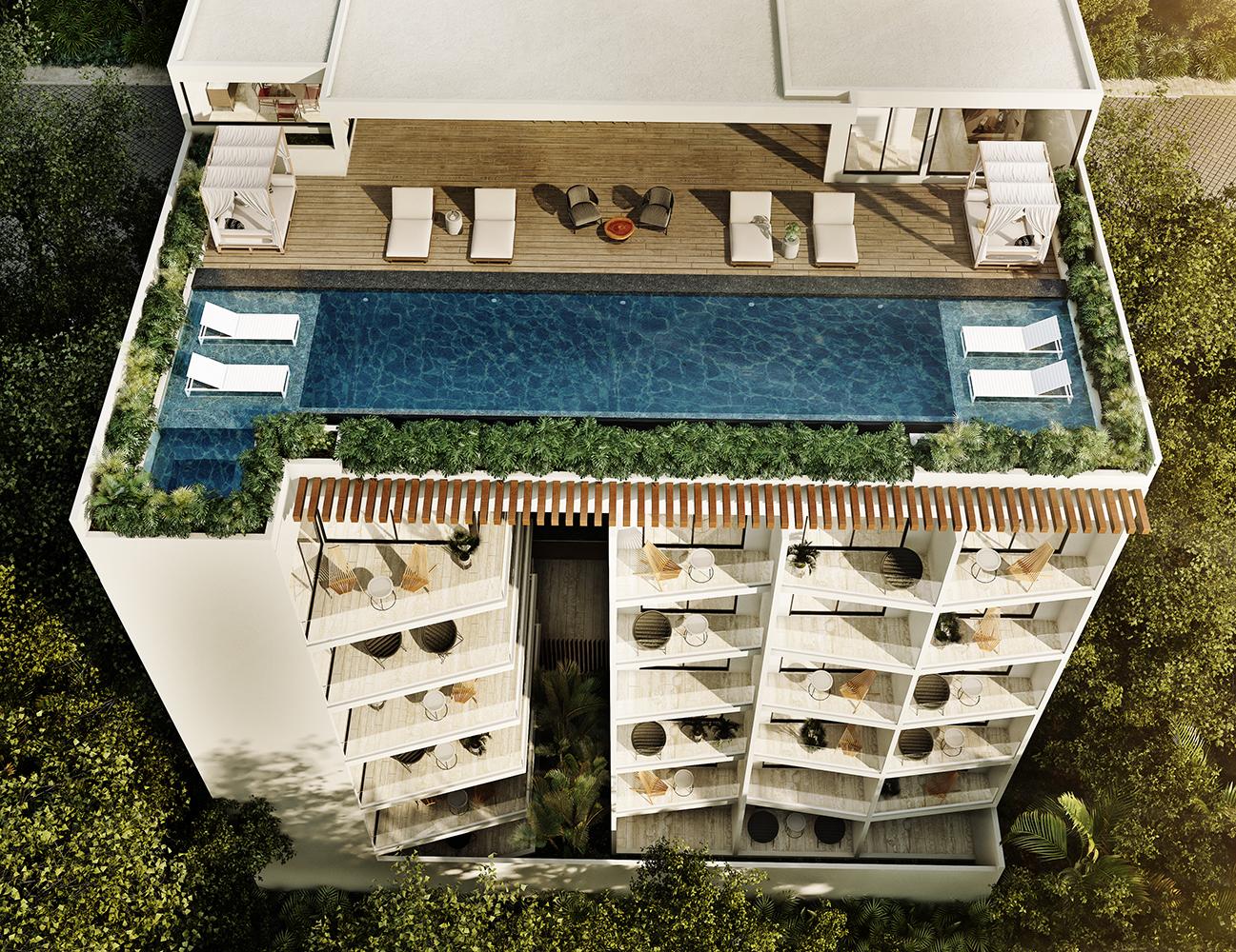 21341 Stunning 2 bedroom condo with a private  - Condo