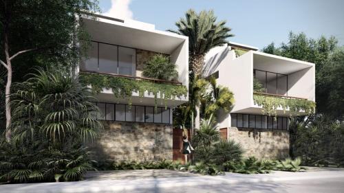 Beautiful 3 bedroom house in a gated community of Tulum